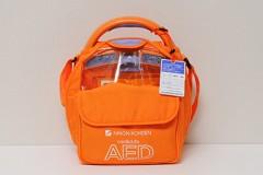 AEDもしもの時に備え、院内に「AED - Automated External Defibrillator -(自動体外式除細動器)」を設置しています。